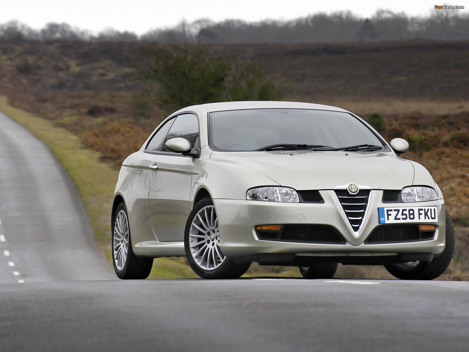 Alfa Romeo GT UK-spec 937 (2004–2010) wallpapers (1600 x 1200)