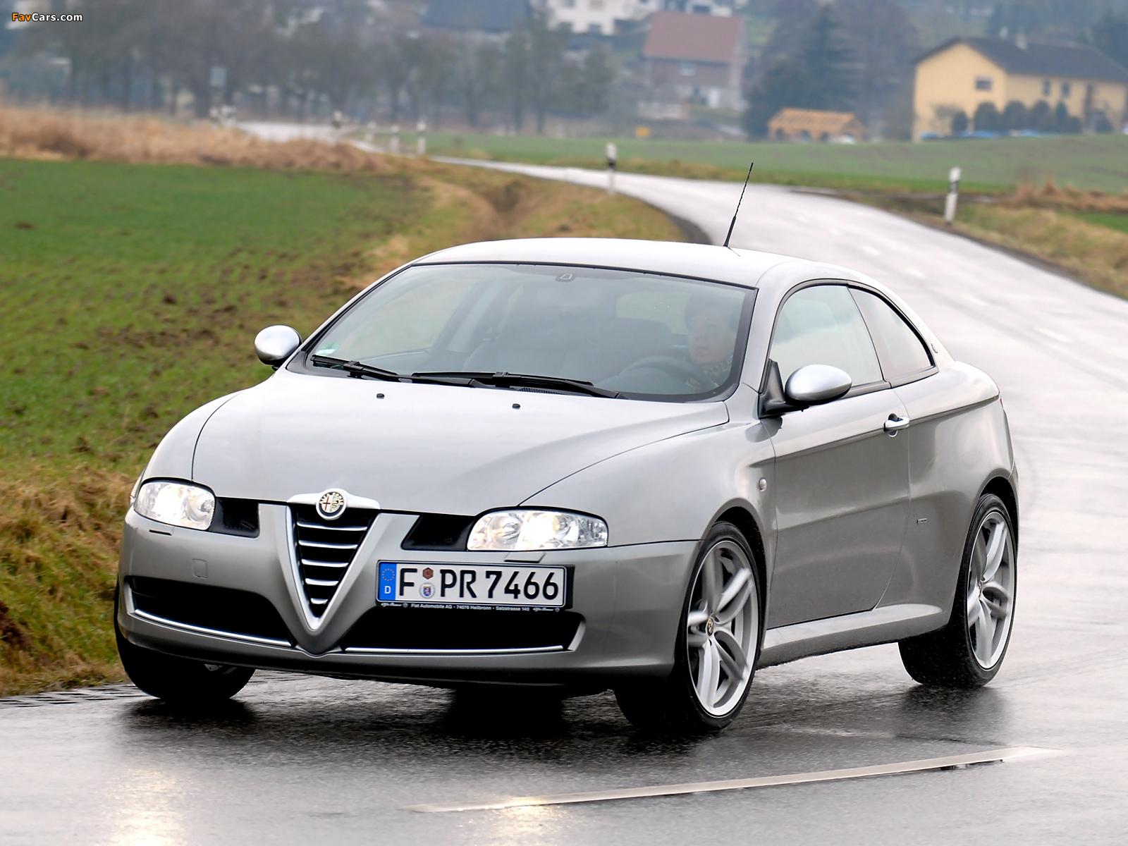 Alfa Romeo GT Quadrifoglio Verde 937 (2008–2010) pictures (1600 x 1200)