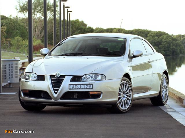 Alfa Romeo GT AU-spec 937 (2004–2007) wallpapers (640 x 480)