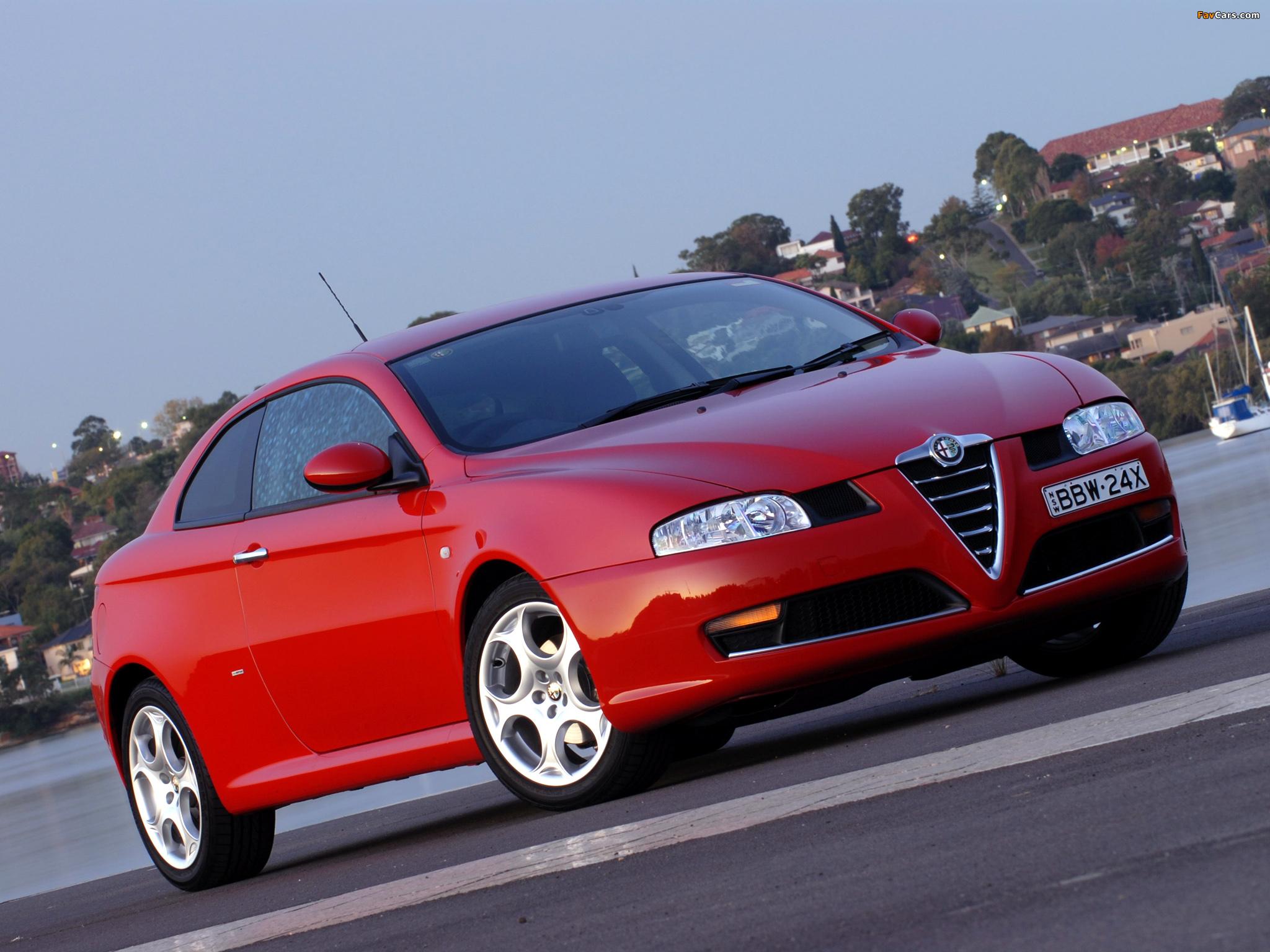 Hd wallpaper car - Alfa Romeo Gt Au Spec 937 2007 2010 Wallpapers 2048x1536