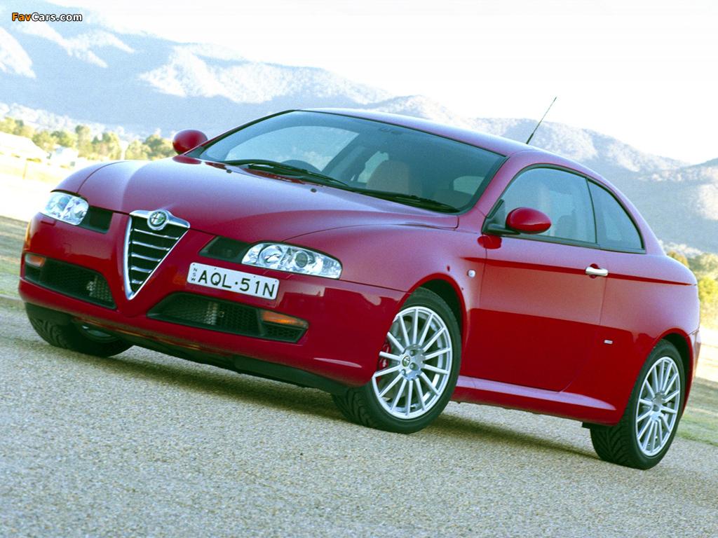 Images of Alfa Romeo GT AU-spec 937 (2004–2007) (1024 x 768)