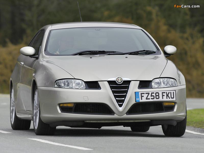 Photos of Alfa Romeo GT UK-spec 937 (2004–2010) (800 x 600)