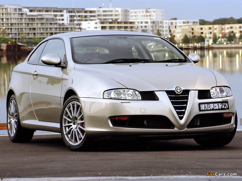 Photos of Alfa Romeo GT AU-spec 937 (2004–2007) (800 x 600)