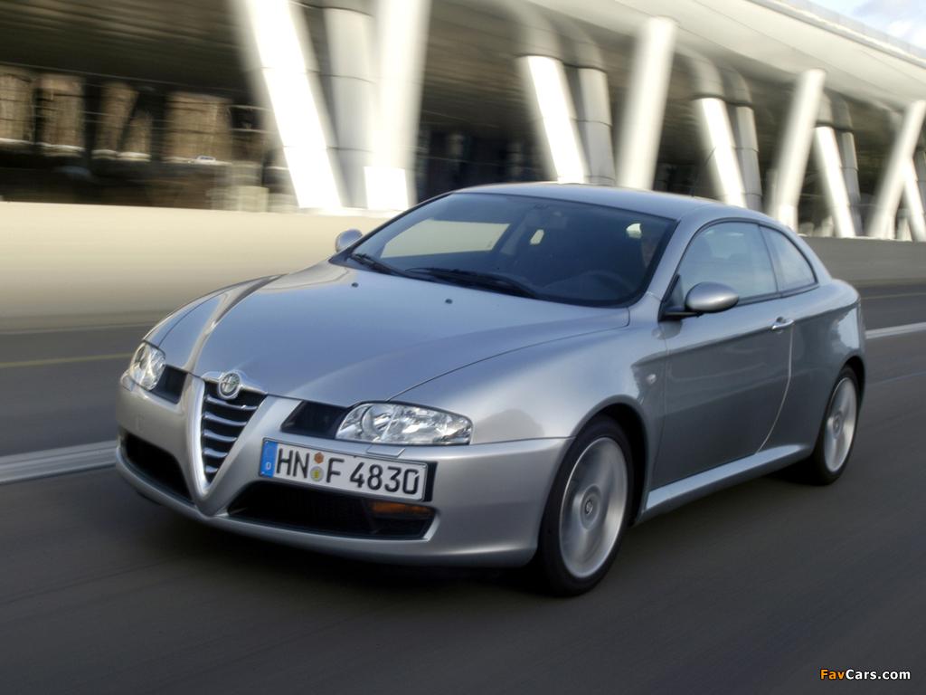 Alfa Romeo GT (937C) 2003–2010 wallpapers (1024 x 768)
