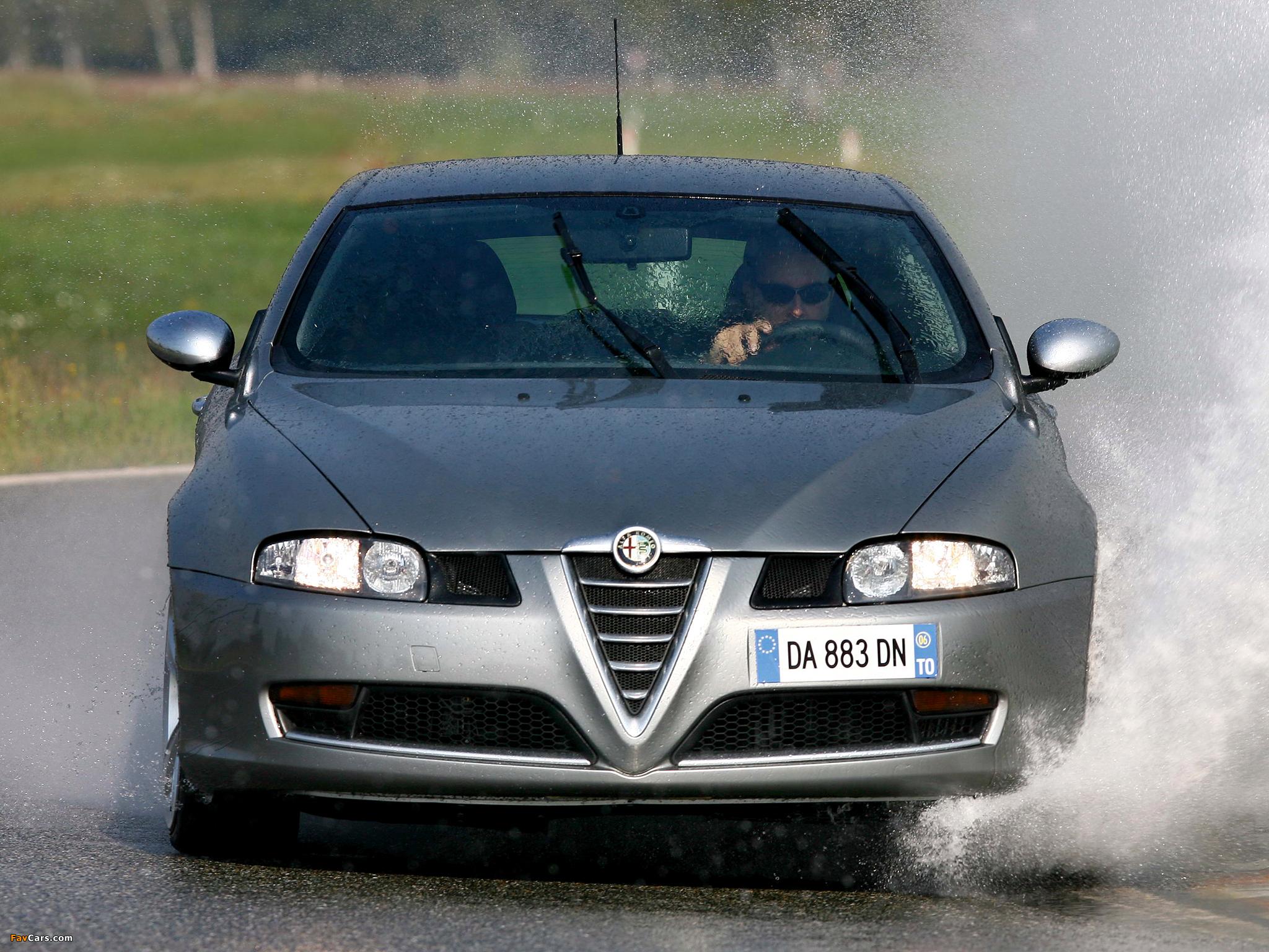 Alfa Romeo GT Q2 937 (2006–2010) wallpapers (2048 x 1536)