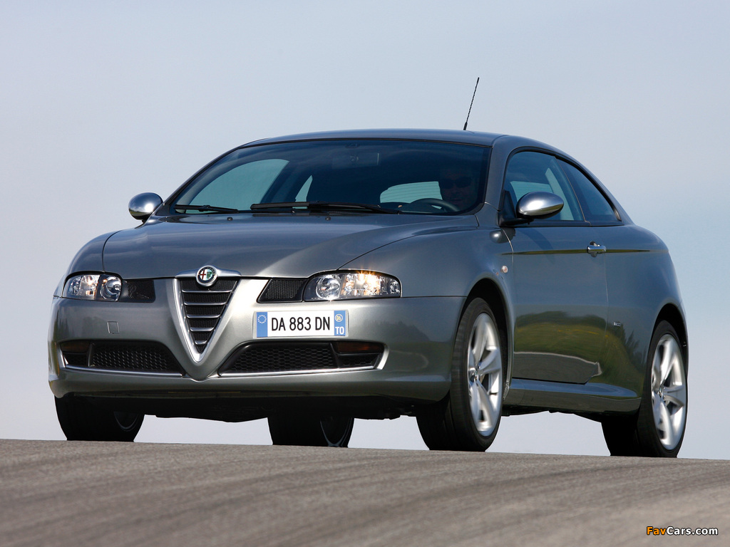 Alfa Romeo GT Q2 937 (2006–2010) wallpapers (1024 x 768)