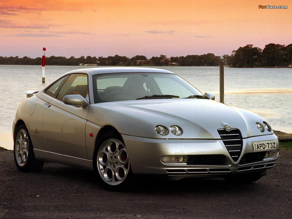 Alfa Romeo Gtv Au Spec 916 2003 2005 Wallpapers 1024x768
