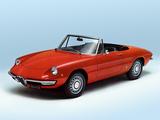 Pictures of Alfa Romeo Spider 1300 Junior 105 (1967–1969)