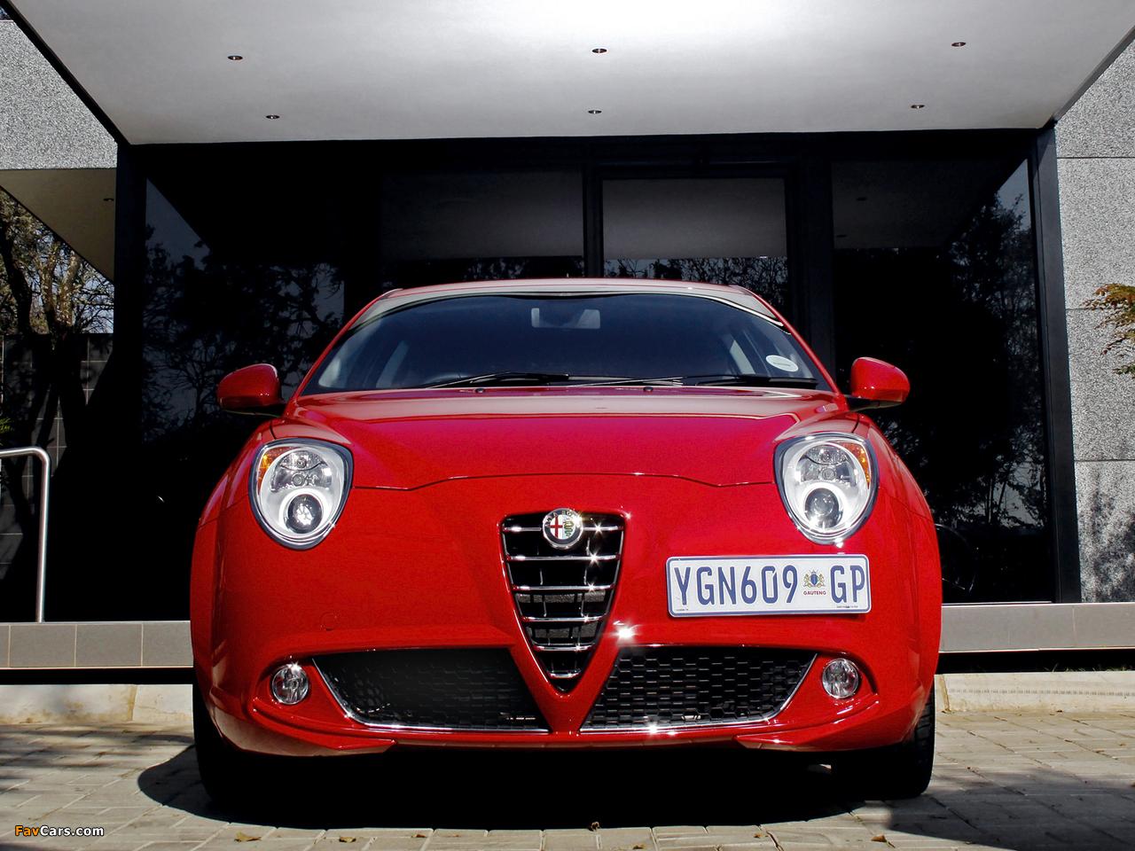 Alfa Romeo MiTo ZA-spec 955 (2009) photos (1280 x 960)