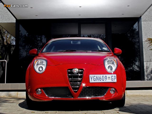 Alfa Romeo MiTo ZA-spec 955 (2009) photos (640 x 480)