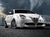 Alfa Romeo MiTo Quadrifoglio Verde 955 (2009–2011) wallpapers