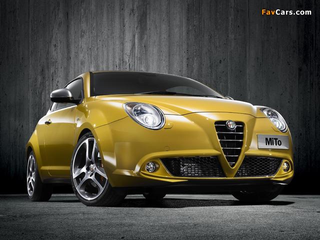 Alfa Romeo MiTo Imola 955 (2009) wallpapers (640 x 480)