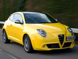 Alfa Romeo MiTo Cloverleaf 955 (2010–2011) images