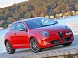 Alfa Romeo MiTo Quadrifoglio Verde AU-spec 955 (2010–2011) images