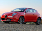 Alfa Romeo MiTo Quadrifoglio Verde AU-spec 955 (2010–2011) images