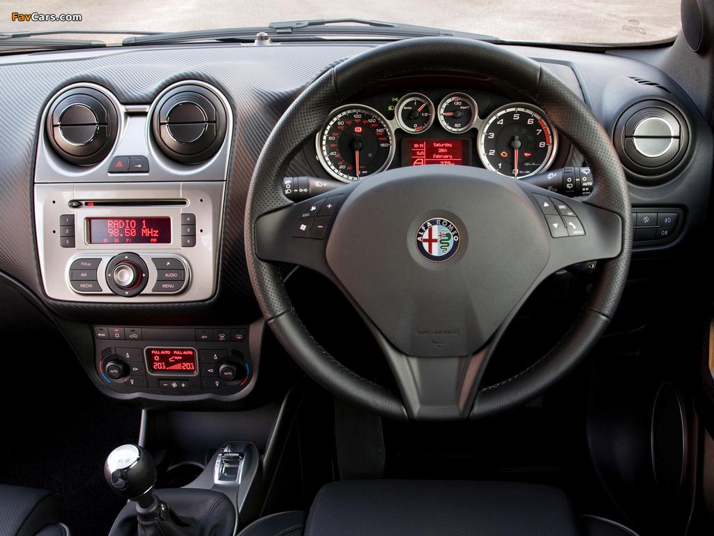 Alfa Romeo MiTo Cloverleaf 955 (2010–2011) pictures (1024 x 768)