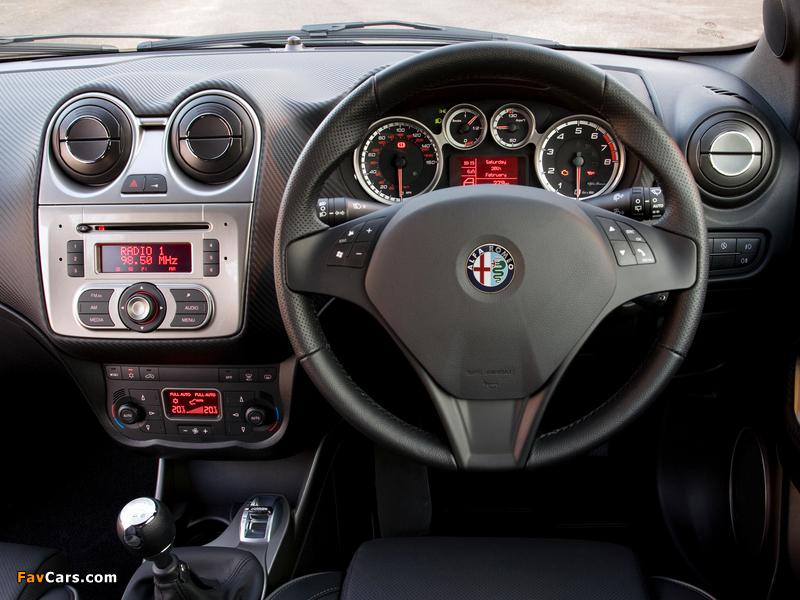 Alfa Romeo MiTo Cloverleaf 955 (2010–2011) pictures (800 x 600)