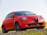Alfa Romeo MiTo Quadrifoglio Verde AU-spec 955 (2010–2011) pictures