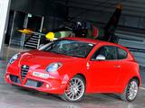 Alfa Romeo MiTo Quadrifoglio Verde AU-spec 955 (2010–2011) wallpapers