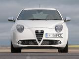 Alfa Romeo MiTo Quadrifoglio Verde UK-spec 955 (2011) photos