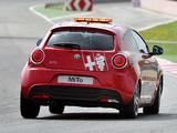 Alfa Romeo MiTo Quadrifoglio Verde SBK Safety Car 955 (2011) photos