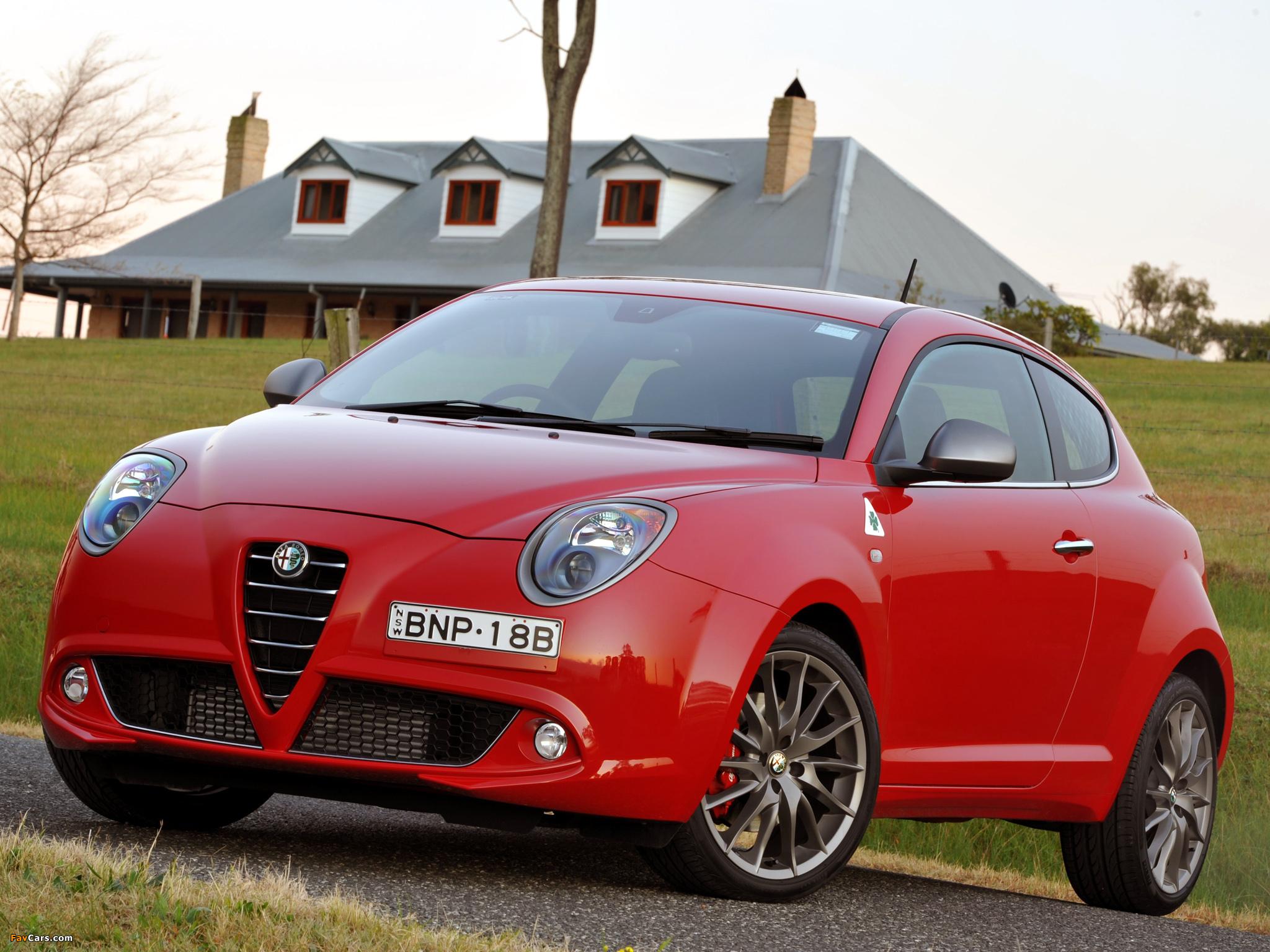 Images of Alfa Romeo MiTo Quadrifoglio Verde AU-spec 955 (2010–2011) (2048 x 1536)