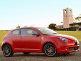 Images of Alfa Romeo MiTo Quadrifoglio Verde AU-spec 955 (2010–2011)