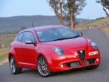 Photos of Alfa Romeo MiTo Quadrifoglio Verde AU-spec 955 (2010–2011)
