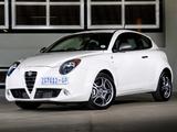 Photos of Alfa Romeo MiTo Quadrifoglio Verde ZA-spec 955 (2010–2011)