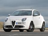 Pictures of Alfa Romeo MiTo Quadrifoglio Verde UK-spec 955 (2011)
