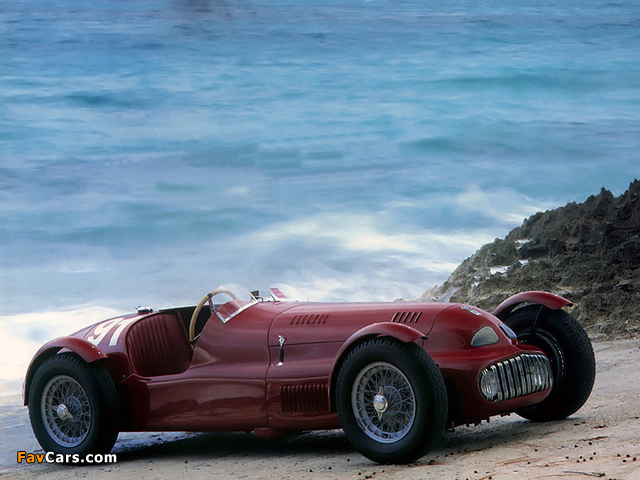 Pictures of Nardi-Danese Alfa Romeo Roadster (1948) (640 x 480)