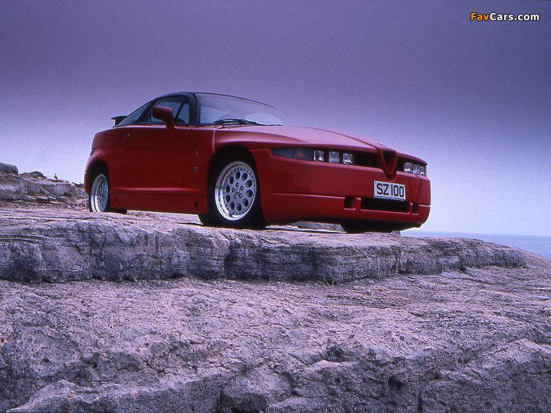 Pictures of Alfa Romeo S.Z. 162C (1989–1991) (800 x 600)