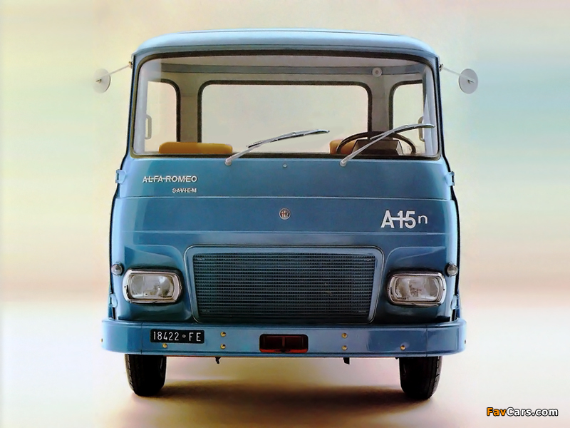 Alfa Romeo Saviem A15n 120 (1972–1974) pictures (800 x 600)