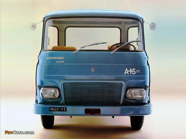 Alfa Romeo Saviem A15n 120 (1972–1974) pictures (640 x 480)