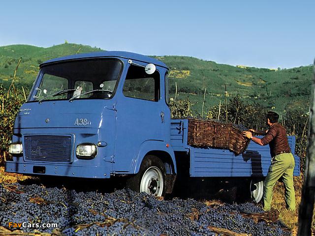Alfa Romeo Saviem A38n 120 (1972–1974) pictures (640 x 480)