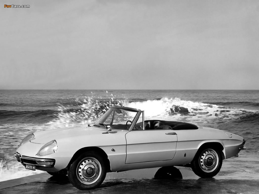 Alfa Romeo Spider 1600 Duetto 105 (1966–1967) photos (1024x768)