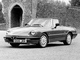 Alfa Romeo Spider 2.0 Quadrifoglio Verde 115 (1986–1990) pictures
