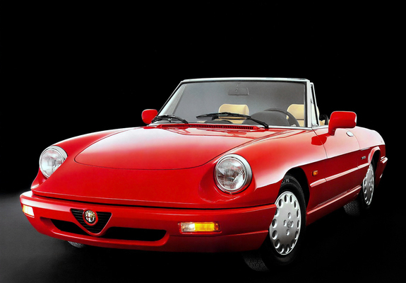 alfa romeo spider 115 1990 1993 images. Black Bedroom Furniture Sets. Home Design Ideas