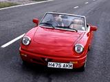Alfa Romeo Spider UK-spec 115 (1990–1993) photos
