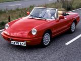 Alfa Romeo Spider UK-spec 115 (1990–1993) wallpapers
