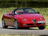 Alfa Romeo Spider UK-spec 916 (2003–2005) images