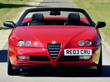 Alfa Romeo Spider UK-spec 916 (2003–2005) photos