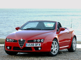 Alfa Romeo Spider UK-spec 939E (2006–2010) pictures
