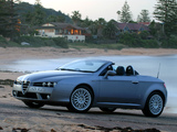 Alfa Romeo Spider AU-spec 939E (2006–2010) wallpapers