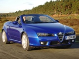 Alfa Romeo Spider UK-spec 939E (2006–2010) wallpapers