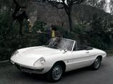 Alfa Romeo Spider 1600 Duetto 105 (1966–1967) pictures