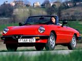 Alfa Romeo Spider 115 (1983–1990) images