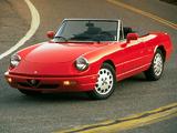 Alfa Romeo Spider Veloce Commemorative Edition 115 (1993) photos