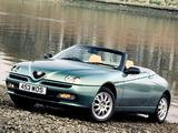 Alfa Romeo Spider UK-spec 916 (1998–2003) images