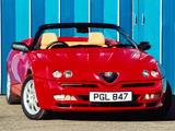 Alfa Romeo Spider UK-spec 916 (1998–2003) photos